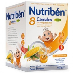 NUTRIBEN 8 CEREALES Y MIEL DIGEST 600G
