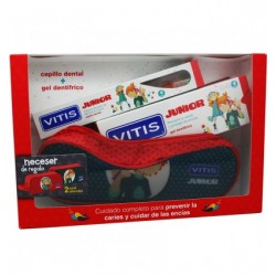VITIS JUNIOR PACK GEL+CEPILLO