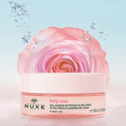 NUXE MASCARILLA GEL FRESCA DESMAQUILLANTE 150ML VERY ROSE