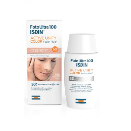 FOTO ULTRA 100 ISDIN ACTIVE UNIFY COLOR 50+ 50ML