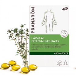 PRANAROM AROMAFORCE CAPSULAS DEFENSAS NATURALES 30C