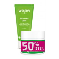 WELEDA PACK SKIN FOOD LIGHT + BODY BUTTER 50% DTO