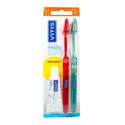 VITIS CEPILLO DENTAL MEDIO ACCES DUPLO ADULTO