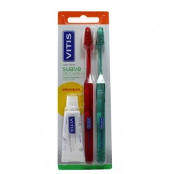 VITIS CEPILLO DENTAL SUAVE DUPLO ACCES
