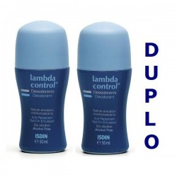LAMBDA DESODORANTE DUPLO ROLL ON 50ML + 50 ML