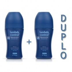 LAMBDA DESODORANTE ROLL ON DUPLO 50ML+50ML ISDIN