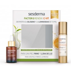 SESDERMA PACK FACTOR G SERUM + CVIT CREMA GEL