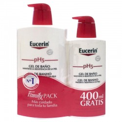 EUCERIN PH5 GEL DE BAÑO 1000ML PROMO